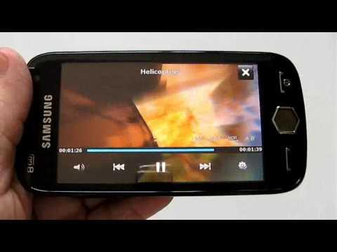 Samsung Omnia II multimedia playback @ OCWORKBENCH (Video 4)