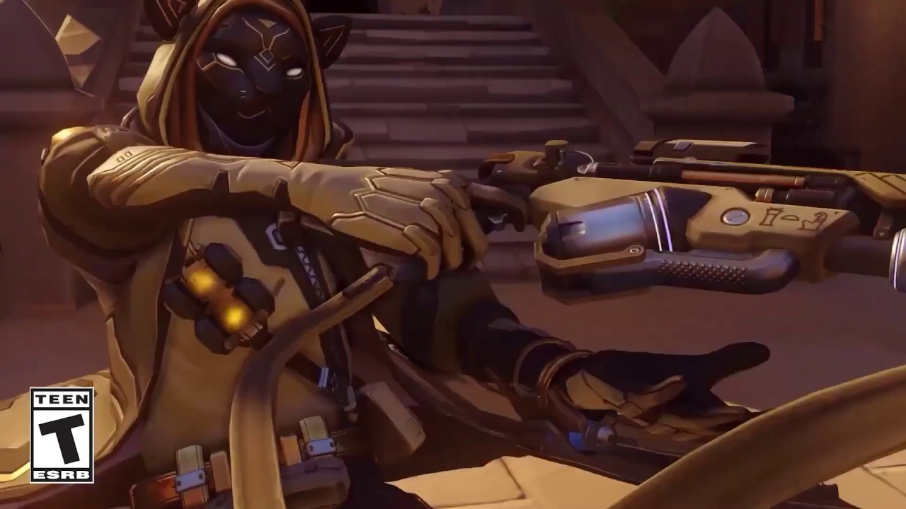Overwatch Ana's Bastet Challenge Main Screen Music Soundtrack OST