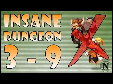 [Castle Clash] Insane Dungeon 3-9 (No Mino/SM)
