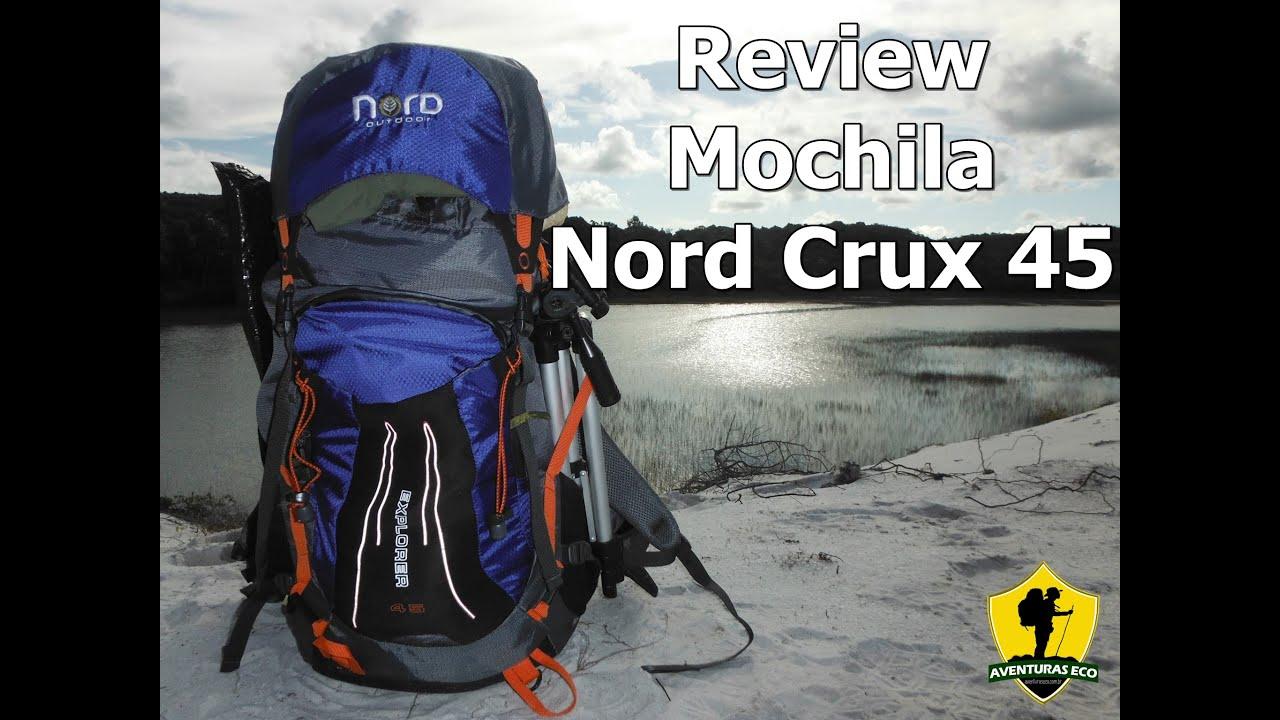 fd2fe843e AVENTURASECO: Review Mochila Nord Crux 45 - YouTube