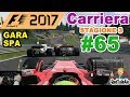 F1 2017 - PS4 Gameplay ITA - T300 - Carriera #65 - GARA SPA - Traffico