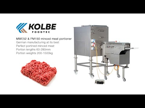 834623fb80 Kolbe MWE52 with PM150 Portioner - YouTube