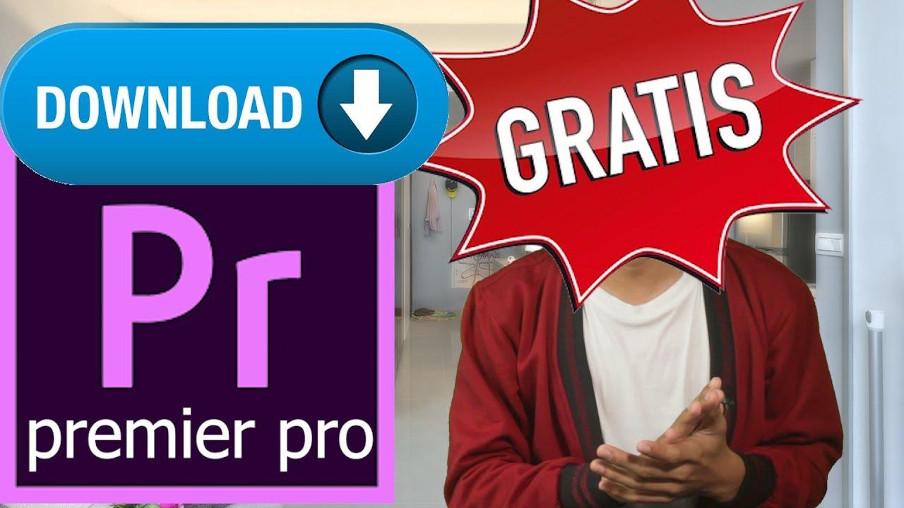 KLIKBAIT!! CARA Download PREMIERE PRO CC 2018 –  Aplikasi Editing Video FULL Alternatif Watermark