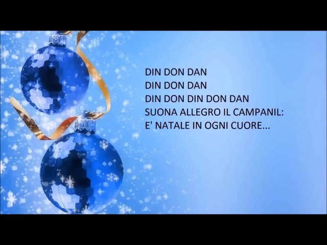 Canzoni di Natale per bambini - Canzoni di Natale in italiano con testo