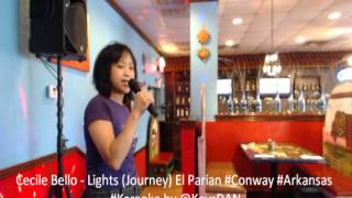 Cecile Bello   Lights Journey El Parian #Conway #Arkansas #Karaoke by @KeysDAN