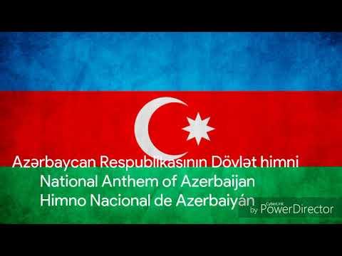 National Anthem of Azerbaijan - Himno Nacional de Azerbaiyán | M&Fchannel