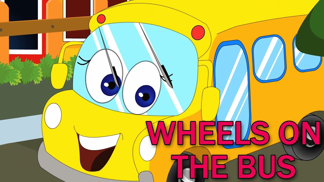 Wheels on the Bus | Nursery Rhymes | Rhymes - YouTube