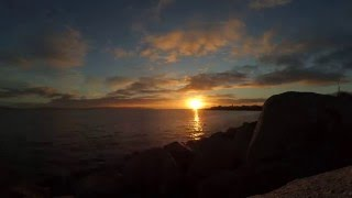 Time-lapse Tramonto Galway