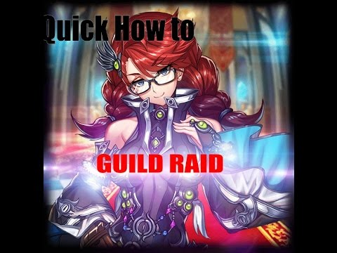 Basic how to Guild Raid | Brave frontier