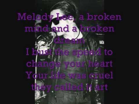 The Damned - Melody Lee lyrics