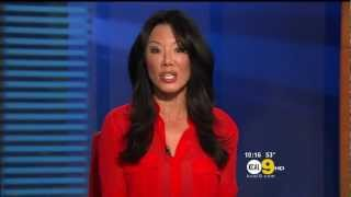 Sharon Tay 2013/01/07 KCAL9 HD