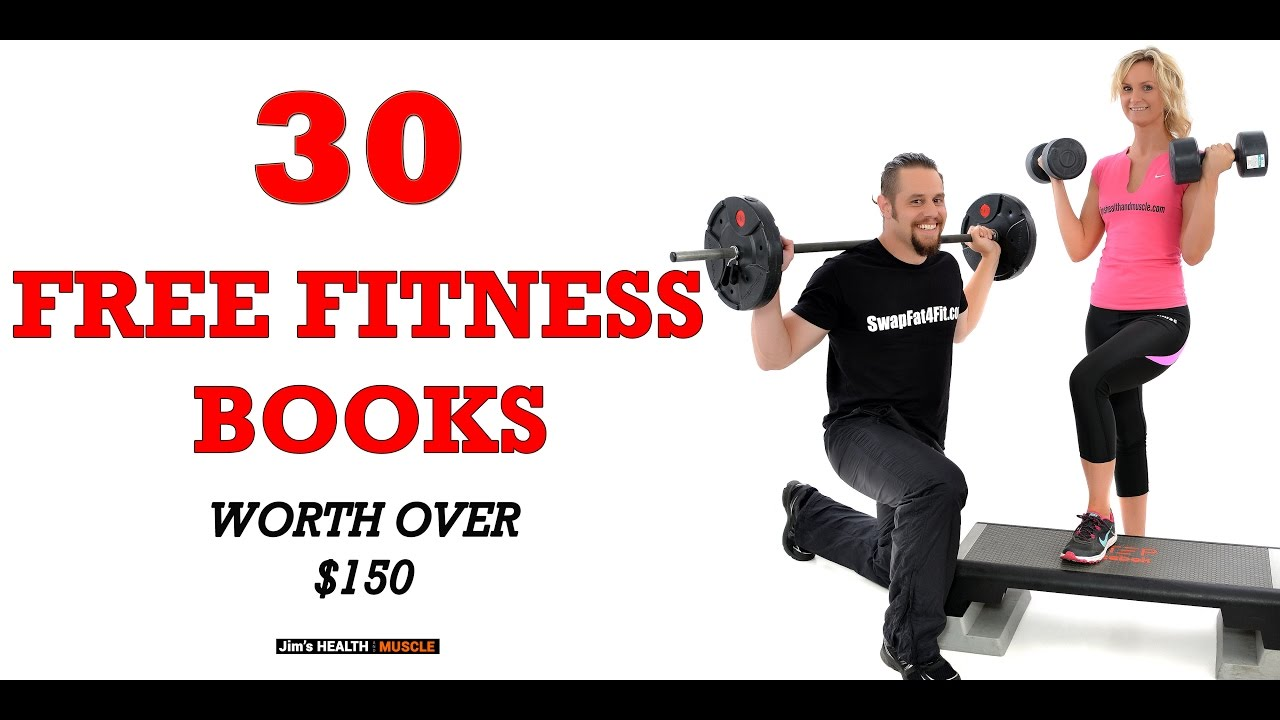 health and fitness promo buck books