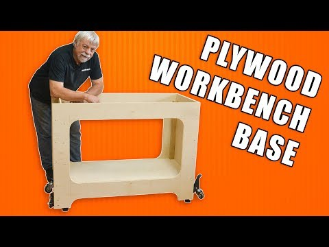 how-to-build-a-plywood-workbench:-woodworking-bench-base