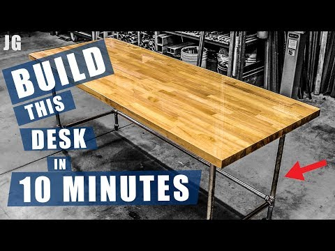 Pipe Frame Desk | JIMBOS GARAGE