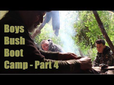 Boys Bush Boot Camp Part 4