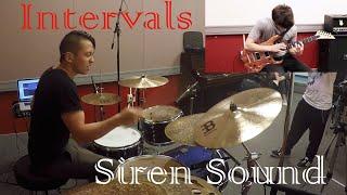 Intervals // Siren Sound // Guitar & Drum Cover