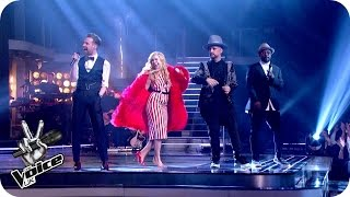 The Coaches perform 'Get It On': The Live Quarter Final - The Voice