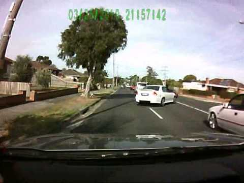 Worst Melbourne Driver? Crash in Dandenong North March 13 2014