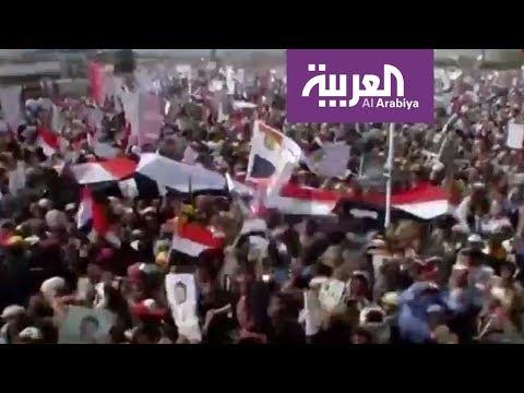ثورة الولاية-.. الحوثي يحتفل بانقلابه في -ميدان- صالح  - نشر قبل 2 ساعة