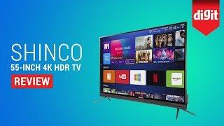 Shinco 55-Inch 4K HDR UHD Smart LED TV Review (S55QHDR10)