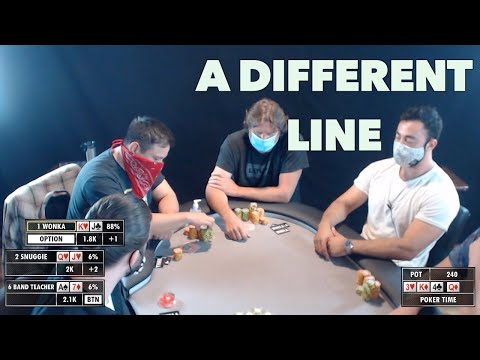 poker-time-cash-game:-taking-an-unusual-line-to-maximize-value