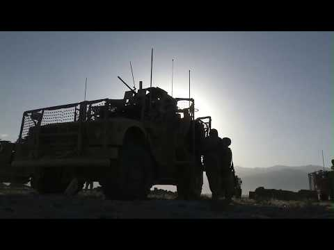 Catch A Ride In The Mine-Resistant Ambush Protected Vehicle