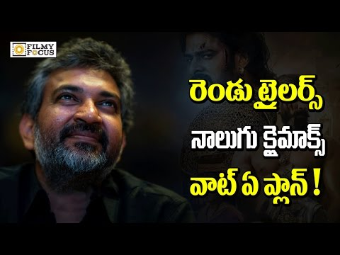 Thumbnail: Rajamouli Planing Two Trailers and Four Climax For Bahubali 2 - Filmyfocus.com