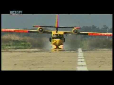 Bad Landing Cl-215 bomber gear up