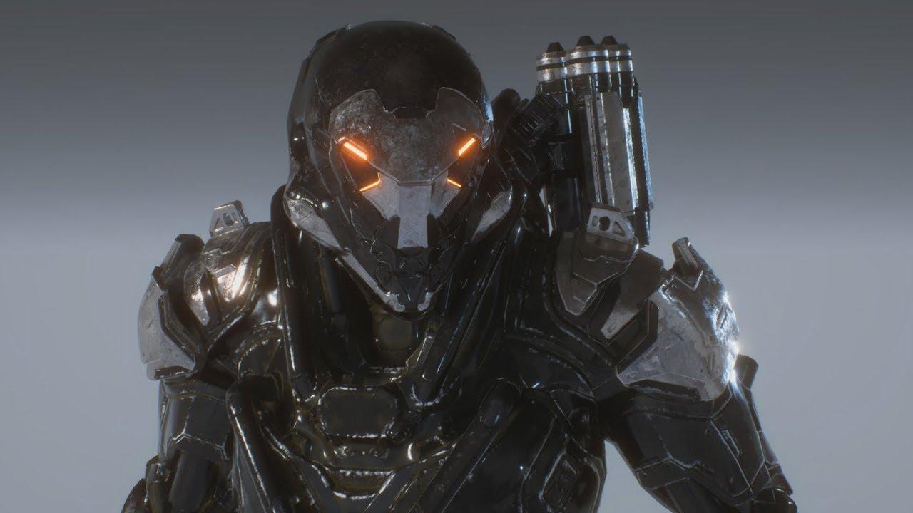 Anthem Ranger Javelin In War Machine Mark Iv Colors Customization Gameplay
