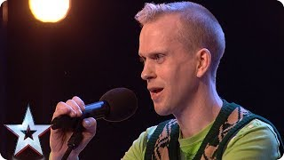Robert White performs comedy song about the Judges! | Auditions Week 1 | Britain's Got Talent 2018