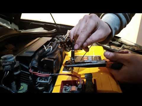 Как  проверить свечи накала на дизельном  двигателе.