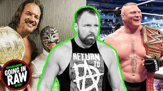 Chris Jericho Pitched WWE/NJPW IC TITLE MATCH? Brock In WWE Negotiations? Going In Raw Podcast