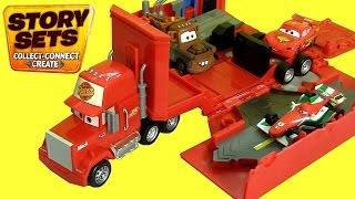 Mack Truck Transformer Hauler New Story Sets DisneyPixarCars Camión Mack Portacoches de Rayo McQueen