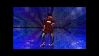 ASANDA JEZILE - BRITAIN'S GOT TALENT 2013 SEMI FINAL PERFORMANCE