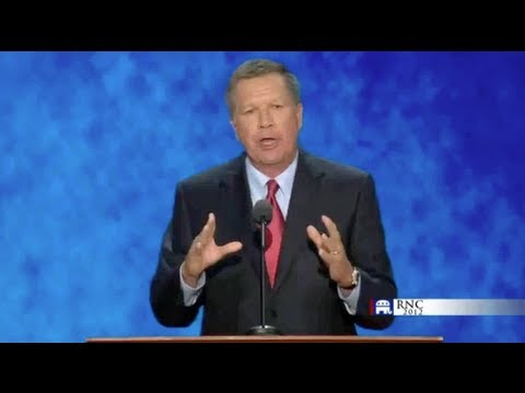 Gov. John Kasich's Speech at the 2012 Republican National Committee