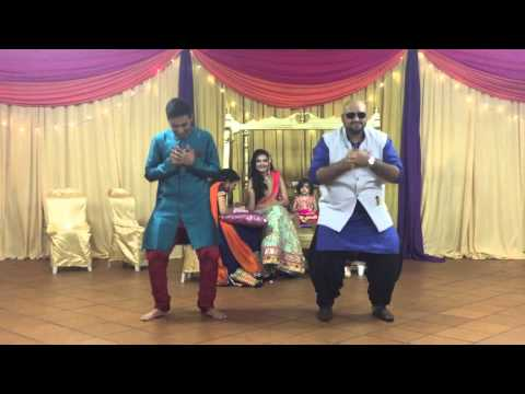 Funny Indian sangeet dance