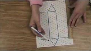 How To Draw A Triangular Prism and Cylinder