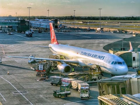 Turkish Airlines Business Class | Airbus A321 | LHR-IST