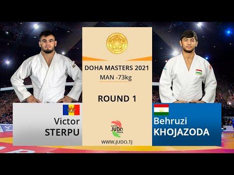 Виктор СТЕРПУ vs Беҳрӯз ХОҶАЗОДА, Round 1, -73kg, Doha Masters 2021