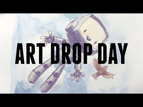 Art Drop Day 2016!