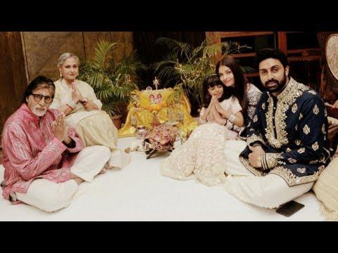 Aishwarya rai bachchan and Jaya bachchan celebrate diwali together| Bachchan Family ❤