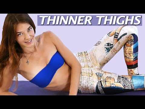 Slimmer Inner Thighs & Skinny Legs Workout for Beginners, At Home Fitness, Thigh Gap