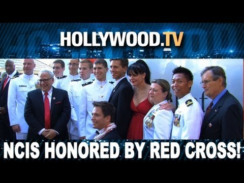 NCIS honored by the Red Cross - Hollywood.TV