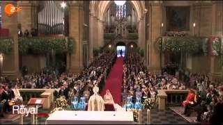 The Royal Wedding Ceremony of Hereditary Grand Duke Guillaume and Stephanie de Lannoy 2012