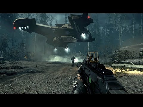 Amazing Futuristic Stealth Mission from Call of Duty Advance