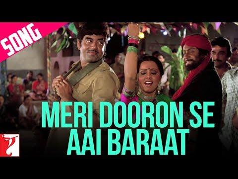 Meri Dooron Se Aayi Baraat Song   Kaala Patthar   Shatrughan Sinha   Neetu Singh