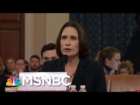 'Fiona Hill Is President Donald Trump's Worst Nightmare'   Morning Joe   MSNBC