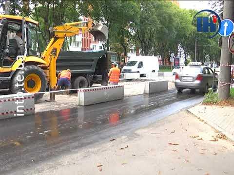 Телеканал ІНТБ: На Злуки розпочали влаштовувати підвищений пішохідний перехід
