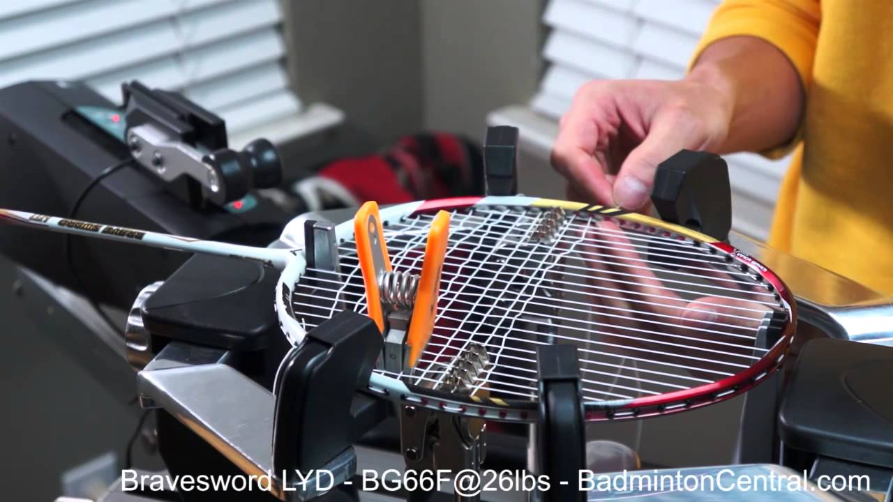 victor badminton stringing machine