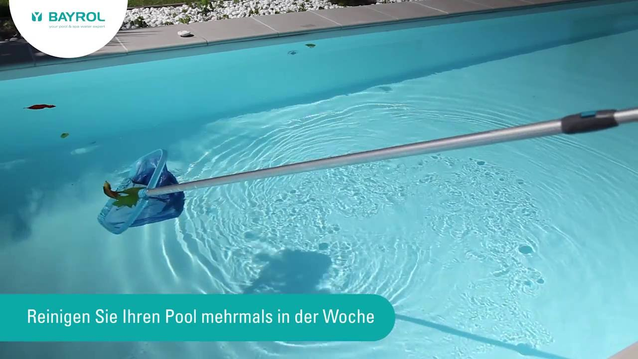 Gfk Pool Pflege Problem Mit Dem Poolwasser Beheben Sunday Pools Ratgeber Pool